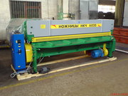 Гильотина 6х2500 мод. НКЧ 6020,  электромеханика,  производство Украина